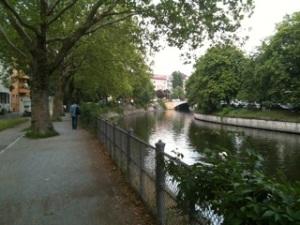 Kanal in Kreuzberg