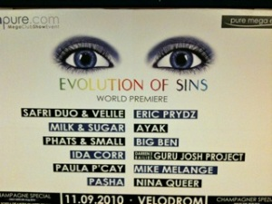 The evolution of sins