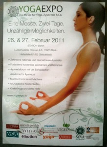 Plakat der YogaExpo