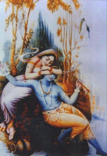 Radha und Krishna