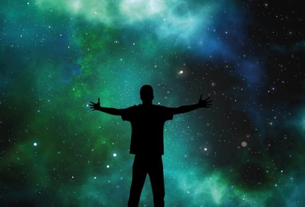 Der Mensch im Kosmos